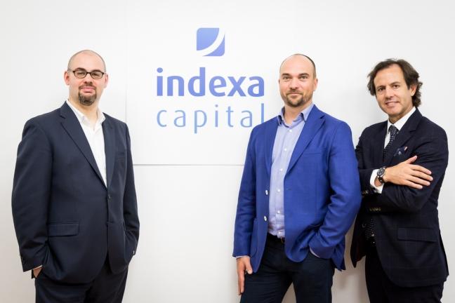 Equipo fundador de Indexa Capital: Unai Ansejo, François Derbaix y Ramón Blanco.